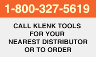 Call Klenk Tools to Order