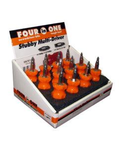 DA78140 4-in-1 Stubby Screwdriver