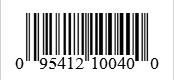 Barcode: 095412100400