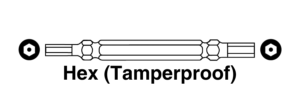 Hex Tamperproof Bit